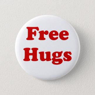 Bóton Redondo 5.08cm Abraços livres