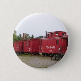 Bóton Redondo 5.08cm Acomodação da carruagem do trem do vapor, arizona