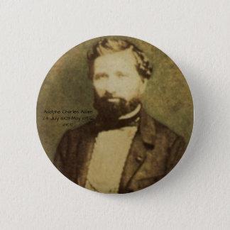 Bóton Redondo 5.08cm Adolfo Charles Adam, 1855