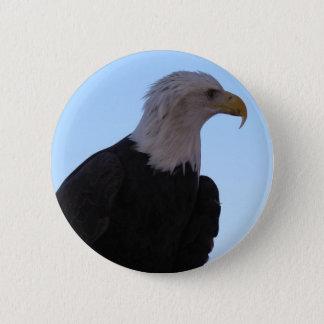 Bóton Redondo 5.08cm Águia americana