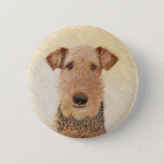 Bóton Redondo 5.08cm Airedale Terrier