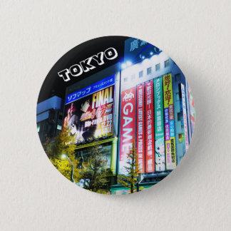Bóton Redondo 5.08cm Akihabara (cidade elétrica) em Tokyo, Japão