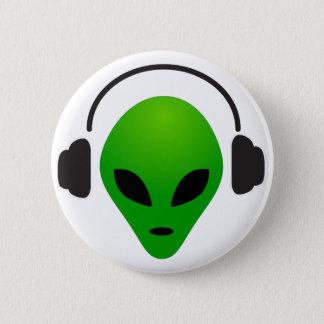 Bóton Redondo 5.08cm Alienígena da música