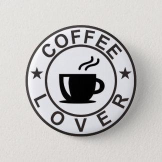 Bóton Redondo 5.08cm Amante do café