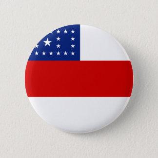 Bóton Redondo 5.08cm Amazonas, botão brasileiro da bandeira do estado