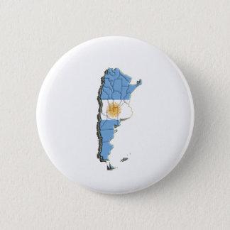 Bóton Redondo 5.08cm Ámérica do Sul: Argentina