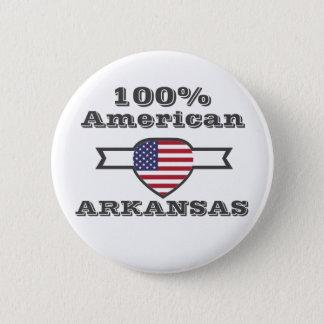 Bóton Redondo 5.08cm Americano de 100%, Arkansas