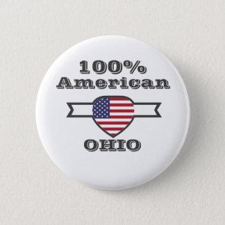 Bóton Redondo 5.08cm Americano de 100%, Ohio