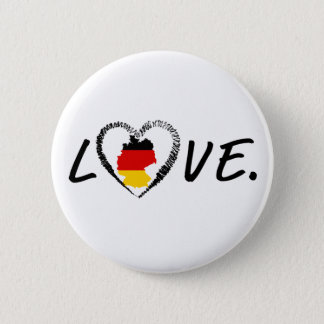 Bóton Redondo 5.08cm Amor Alemanha