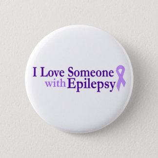 Bóton Redondo 5.08cm amor da epilepsia