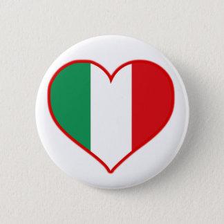 Bóton Redondo 5.08cm Amor de Italia