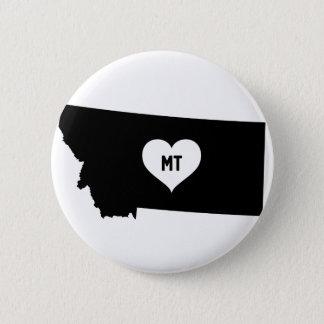 Bóton Redondo 5.08cm Amor de Montana