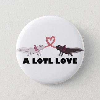 Bóton Redondo 5.08cm amor do axolotl