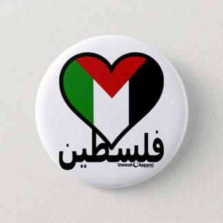 Bóton Redondo 5.08cm Amor Palestina