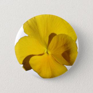 Bóton Redondo 5.08cm Amor perfeito amarelo 201711f