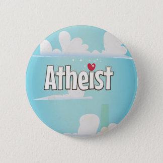 Bóton Redondo 5.08cm Amor que é um ateu