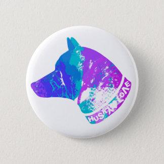 Bóton Redondo 5.08cm Amor RONCO (violeta)
