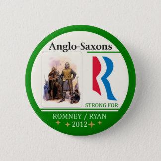 Bóton Redondo 5.08cm Anglo-Saxões para Romney Ryan 2012