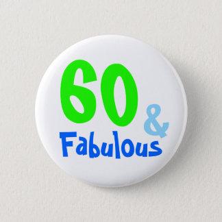 Bóton Redondo 5.08cm Aniversário de néon fabuloso