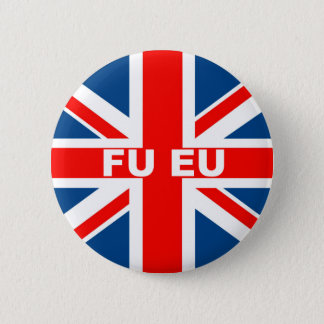 Bóton Redondo 5.08cm Anti bandeira da UE Ingleses