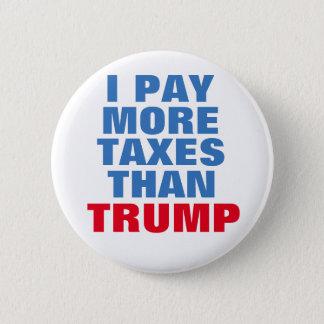 Bóton Redondo 5.08cm Anti botão de Donald Trump