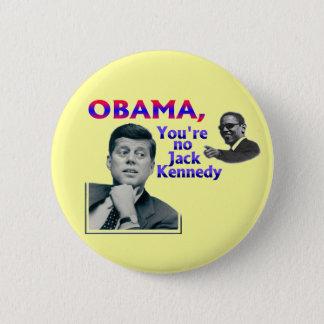 Bóton Redondo 5.08cm Anti-Obama
