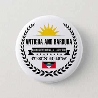 Bóton Redondo 5.08cm Antígua e Barbuda