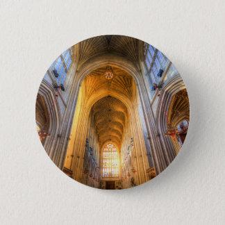 Bóton Redondo 5.08cm Arquitetura da abadia do banho