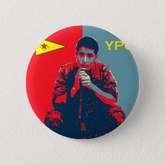 Bóton Redondo 5.08cm Arte 2 do soldado 4 de YPG