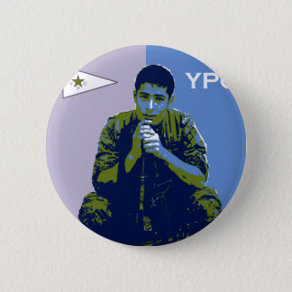 Bóton Redondo 5.08cm Arte 3 do soldado 4 de YPG