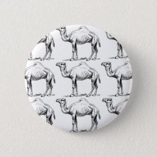 Bóton Redondo 5.08cm Arte do rebanho do camelo