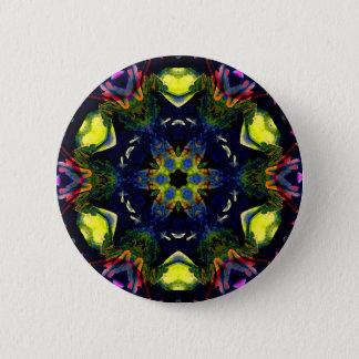 Bóton Redondo 5.08cm Arte espiritual cura da meditação da mandala de