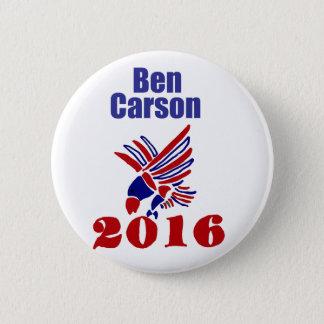 Bóton Redondo 5.08cm Arte política presidencial de Ben Carson