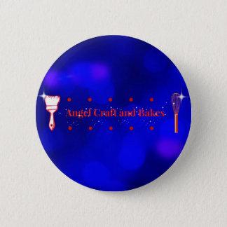Bóton Redondo 5.08cm Artesanato do anjo e botão dos assares