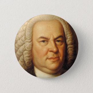 Bóton Redondo 5.08cm Artigos de Johann Sebastian Bach