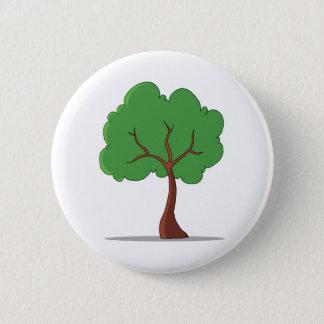 Bóton Redondo 5.08cm Árvore