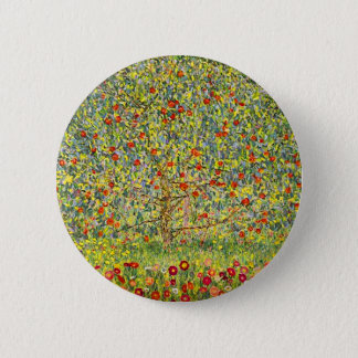 Bóton Redondo 5.08cm Árvore de Gustavo Klimt Apple