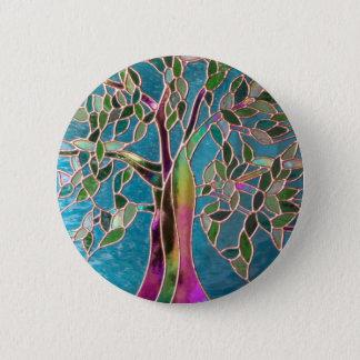 Bóton Redondo 5.08cm Árvore do crachá do encantamento