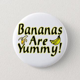 Bóton Redondo 5.08cm As bananas são saborosos