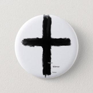 Bóton Redondo 5.08cm As cruzadas - ordem Teutonic