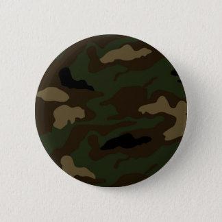 Bóton Redondo 5.08cm as forças armadas camuflam o teste padrão