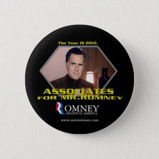 Bóton Redondo 5.08cm Associados para o botão do Sr. Romney