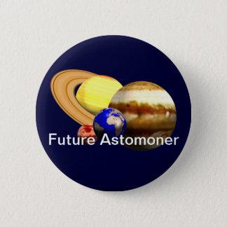 Bóton Redondo 5.08cm Astrónomo futuro