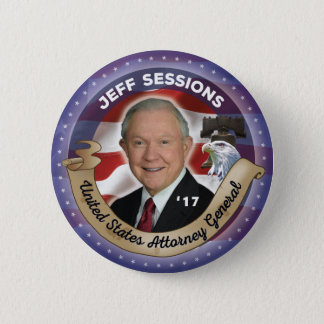 Bóton Redondo 5.08cm Attorney General de Jeff Sessions