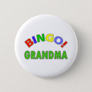 Bóton Redondo 5.08cm Avó do Bingo