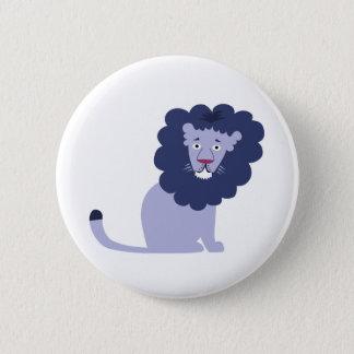 Bóton Redondo 5.08cm Azul azul do leão