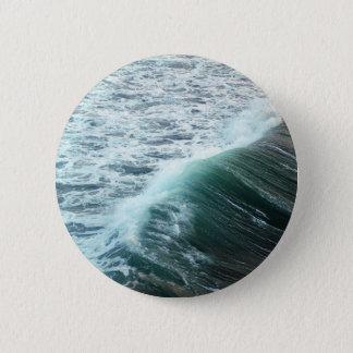 Bóton Redondo 5.08cm Azul de Oceano Pacífico