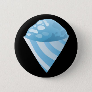 Bóton Redondo 5.08cm Azul do cone do sno da comida do pulso aleatório