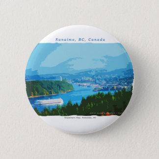 Bóton Redondo 5.08cm Baía da partida, Nanaimo, BC