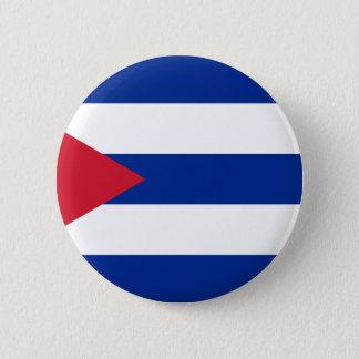 Bóton Redondo 5.08cm Baixo custo! Bandeira de Cuba